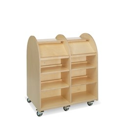 E21150 - double-sided with 12 shelves