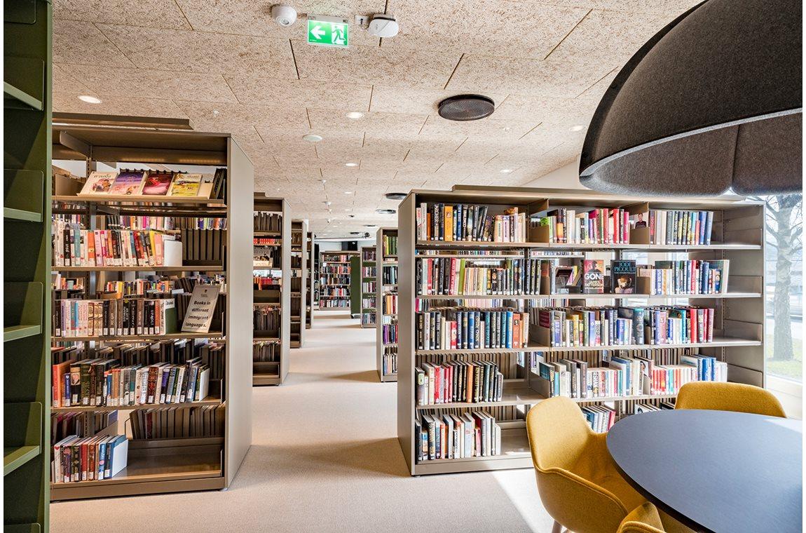 Bibliothèque municipale de Ringebu, Norvège - Bibliothèque municipale