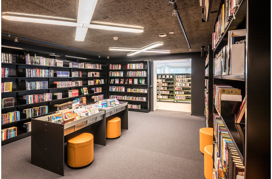 Ringebu Public Library, Norway - Public libraries