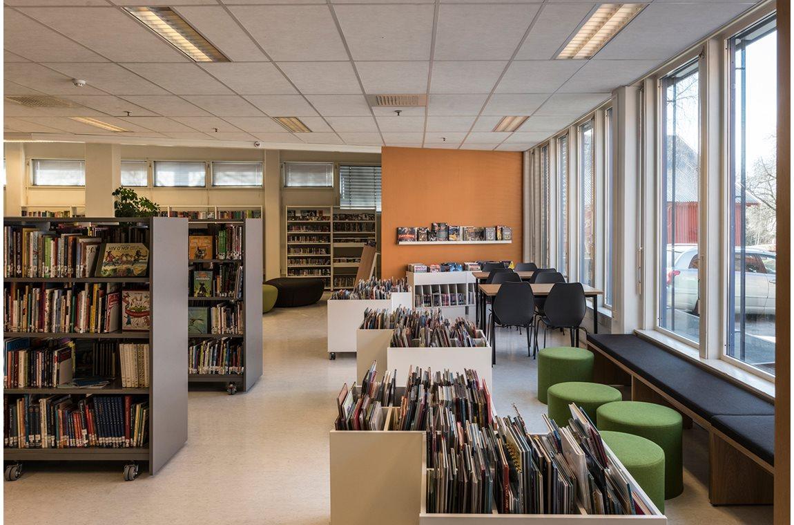 Kløfta bibliotek, Norge - Offentliga bibliotek