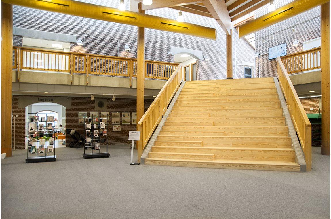 Esbjerg bibliotek, Danmark - Offentliga bibliotek