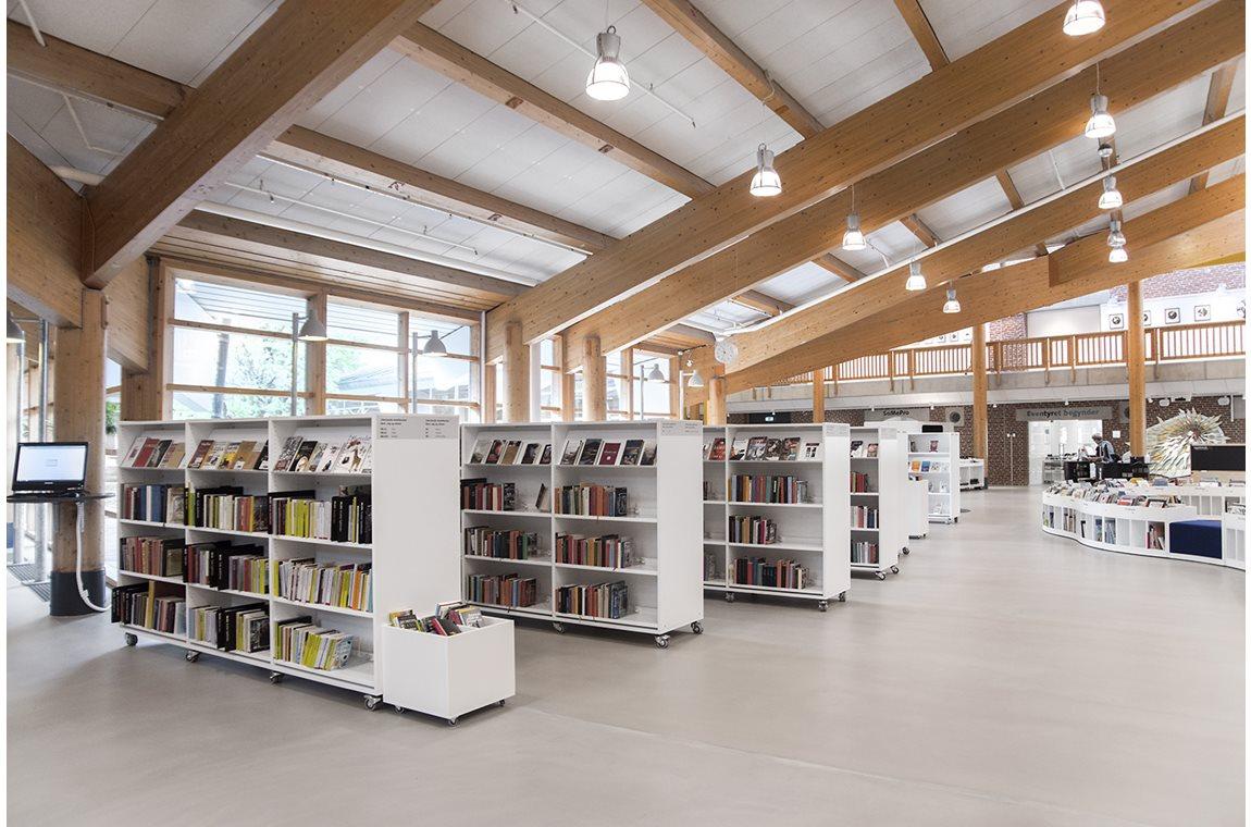 Bibliothèque municipale d'Esbjerg, Danemark - Bibliothèque municipale