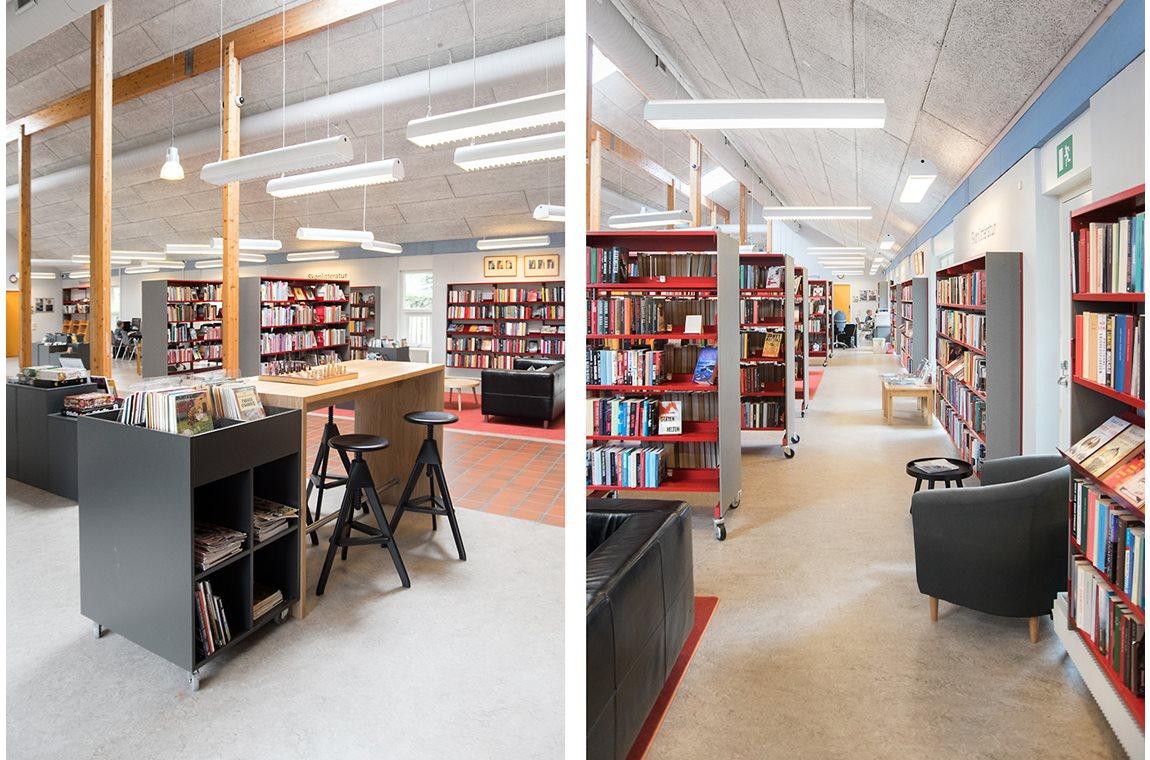 Bibliothèque municipale de Taulov, Danemark - Bibliothèque municipale