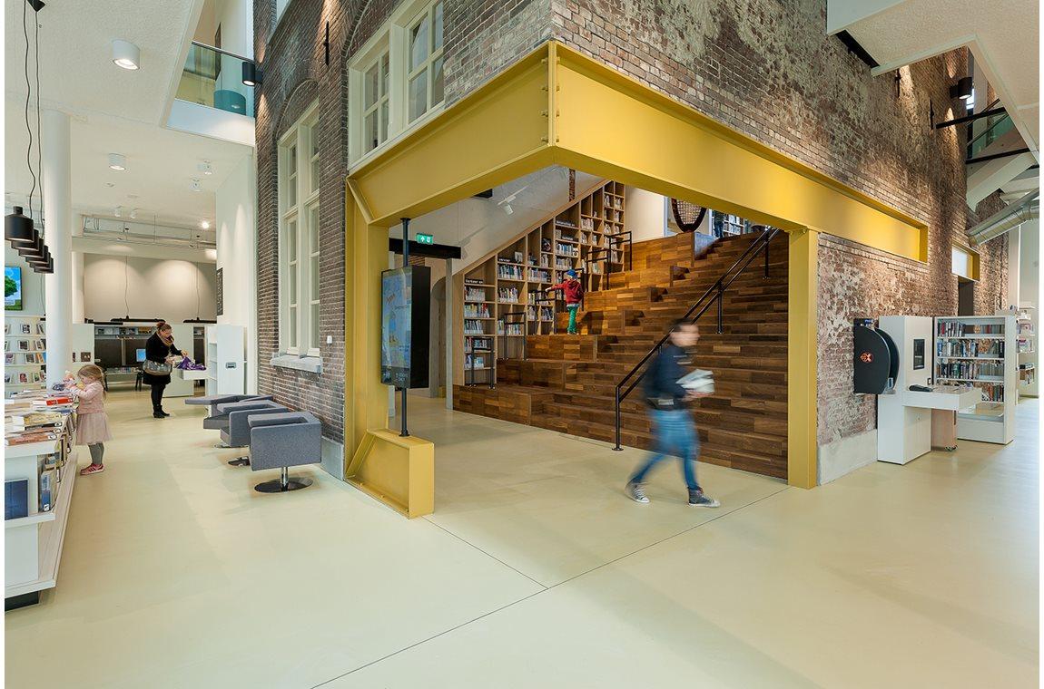 Den Helder Bibliotek, Holland - Offentligt bibliotek