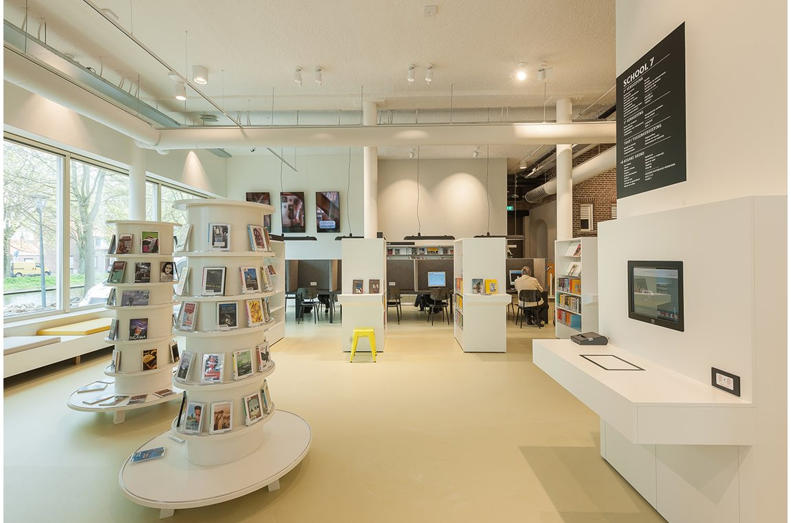 Bibliothèque municpale Den Helder, Pays-Bas - Bibliothèque municipale