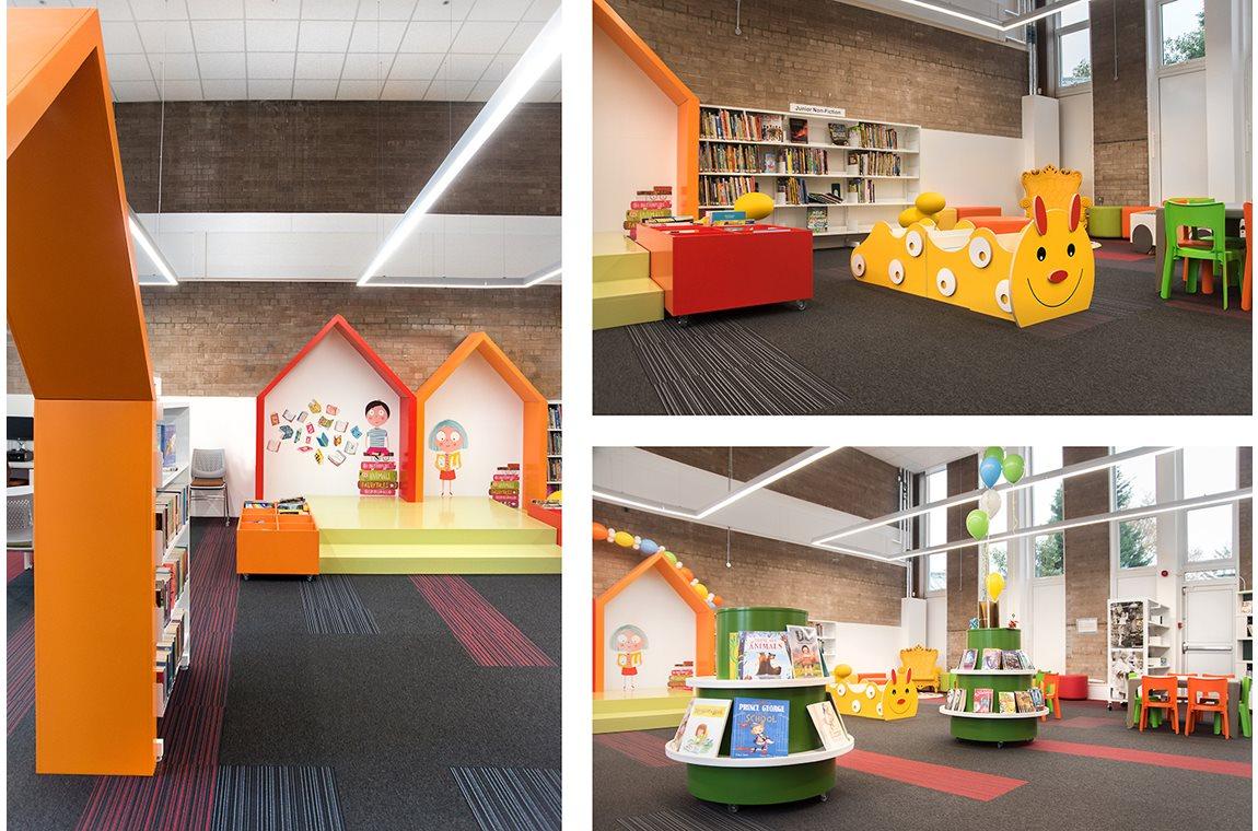 Bibliothèque municipale de Cardonald, Royame-Uni - Bibliothèque municipale