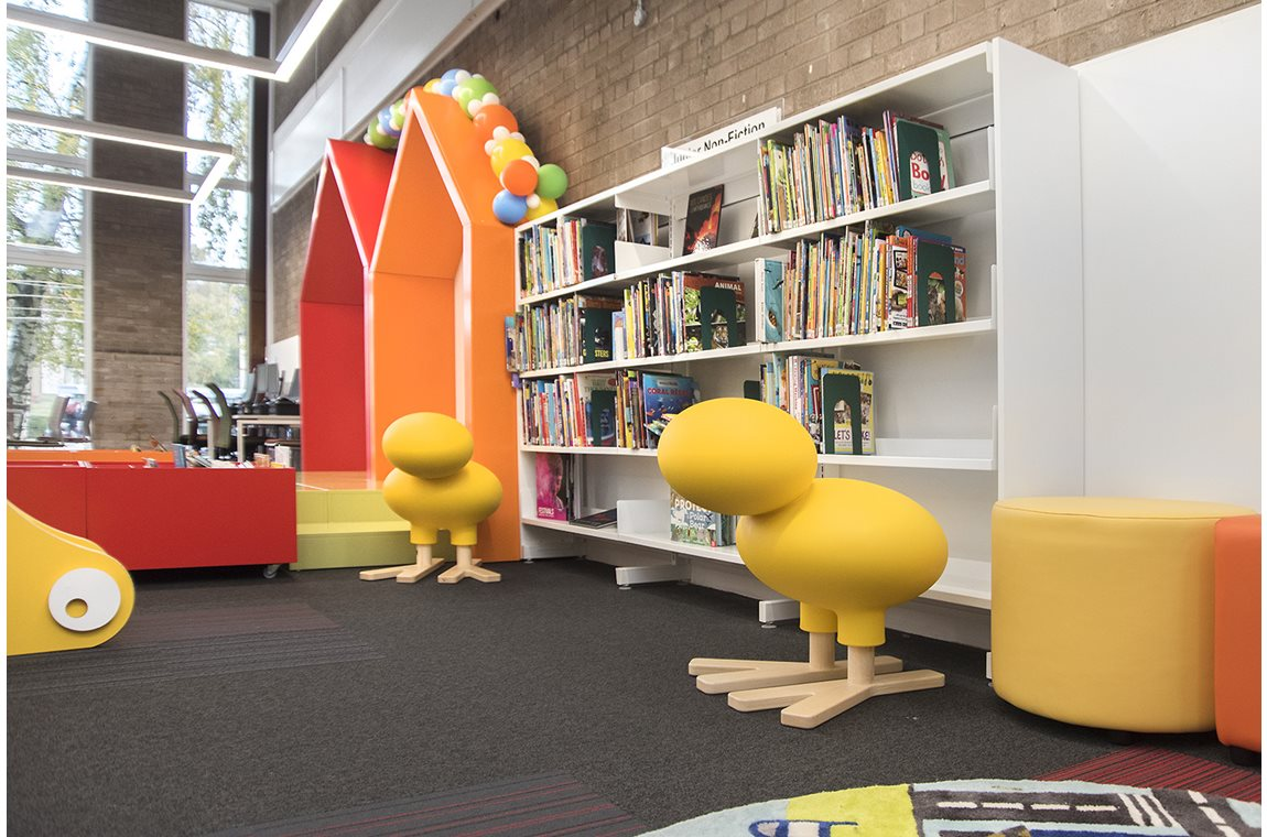 Cardonald Bibliotek, Storbritannien - Offentligt bibliotek