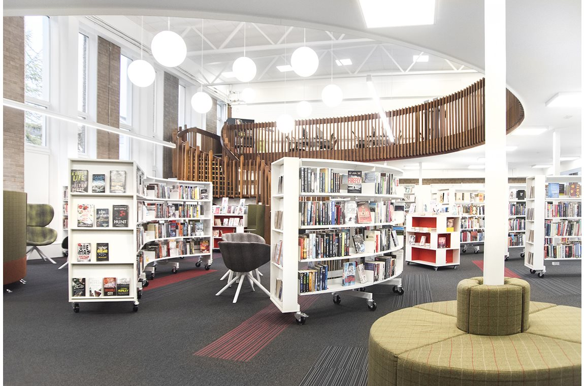 Cardonald Public Library, United Kingdom - Public libraries