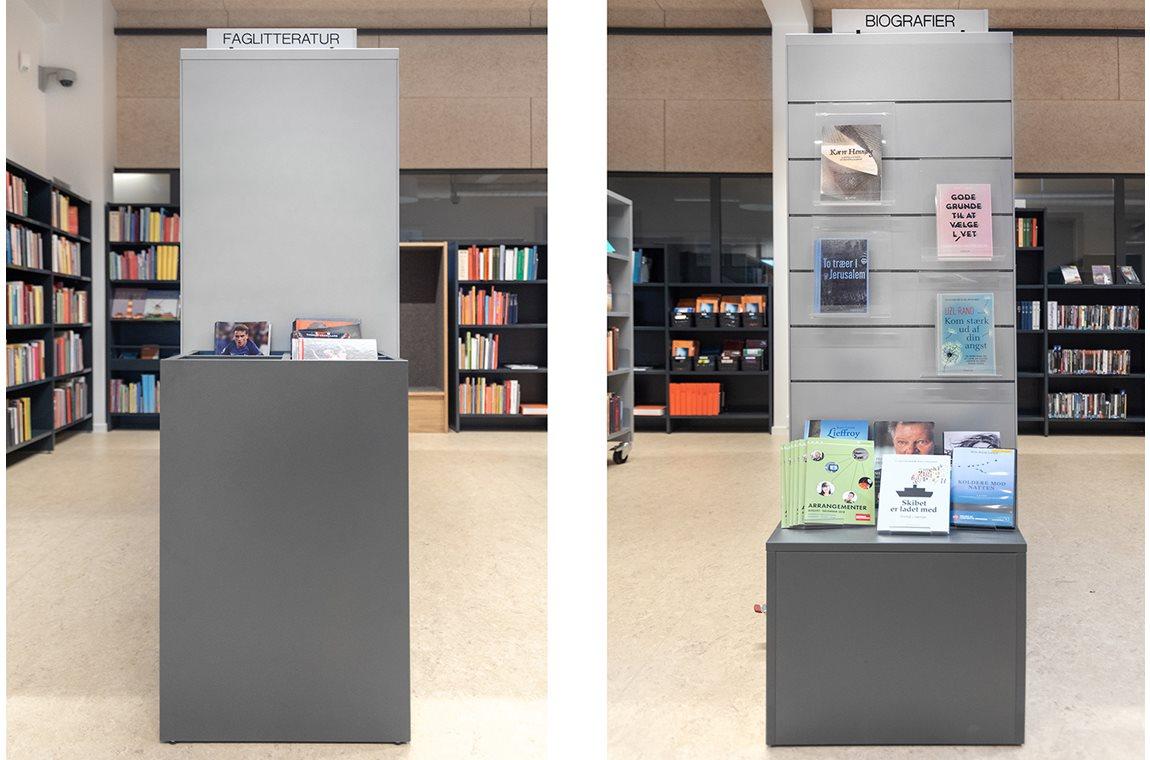 Bibliothèque municipale de Gram, Danemark - Bibliothèque municipale