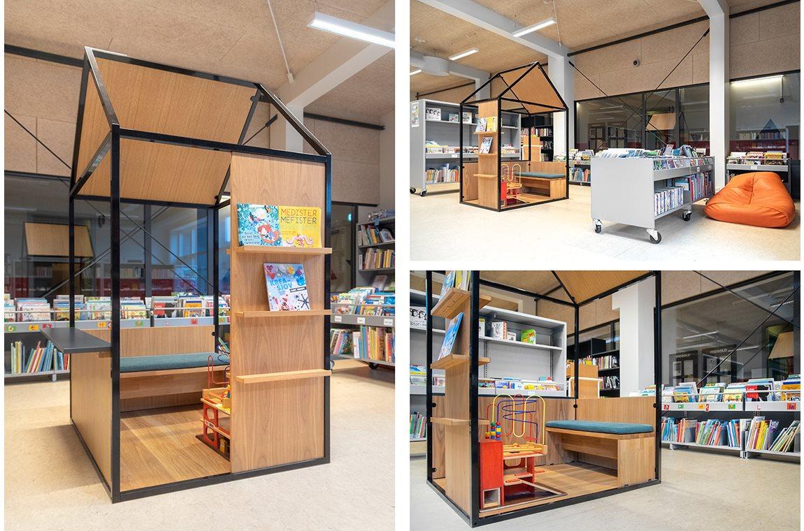 Gram Public Library, Denmark - Public libraries