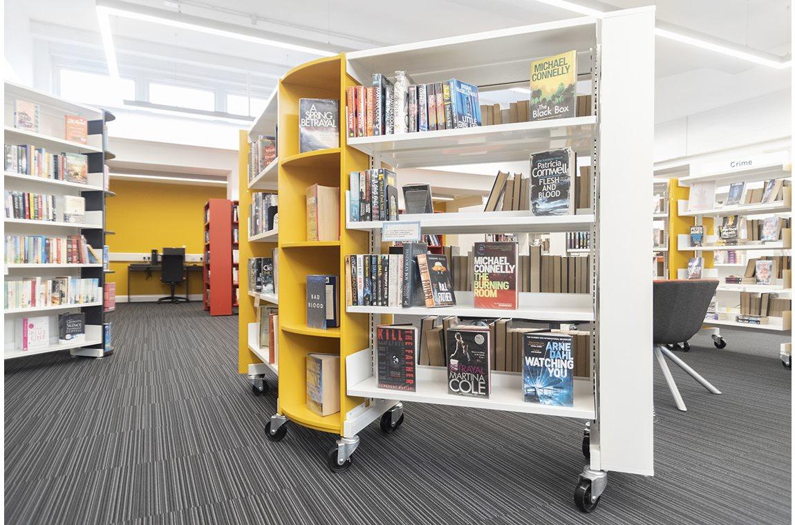 Castlemilk Bibliotek, Storbritannien - Offentligt bibliotek