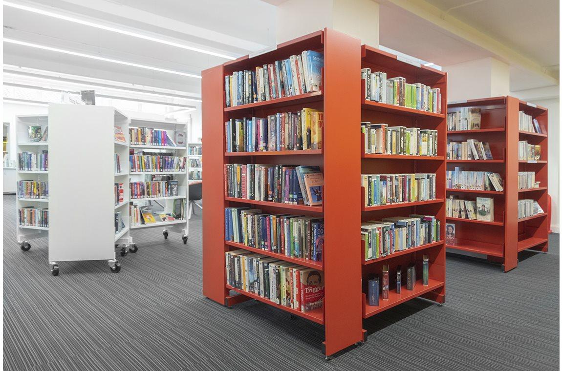 Castlemilk bibliotek, Storbritannien - Offentliga bibliotek