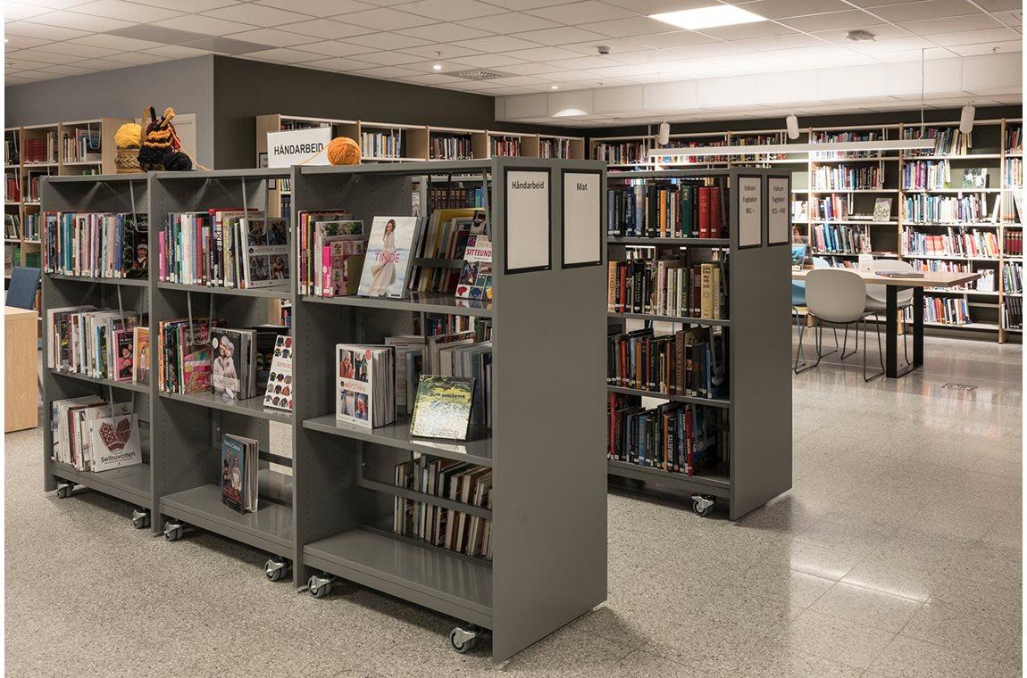Trøgstad Bibliotek, Norge - Skolebibliotek