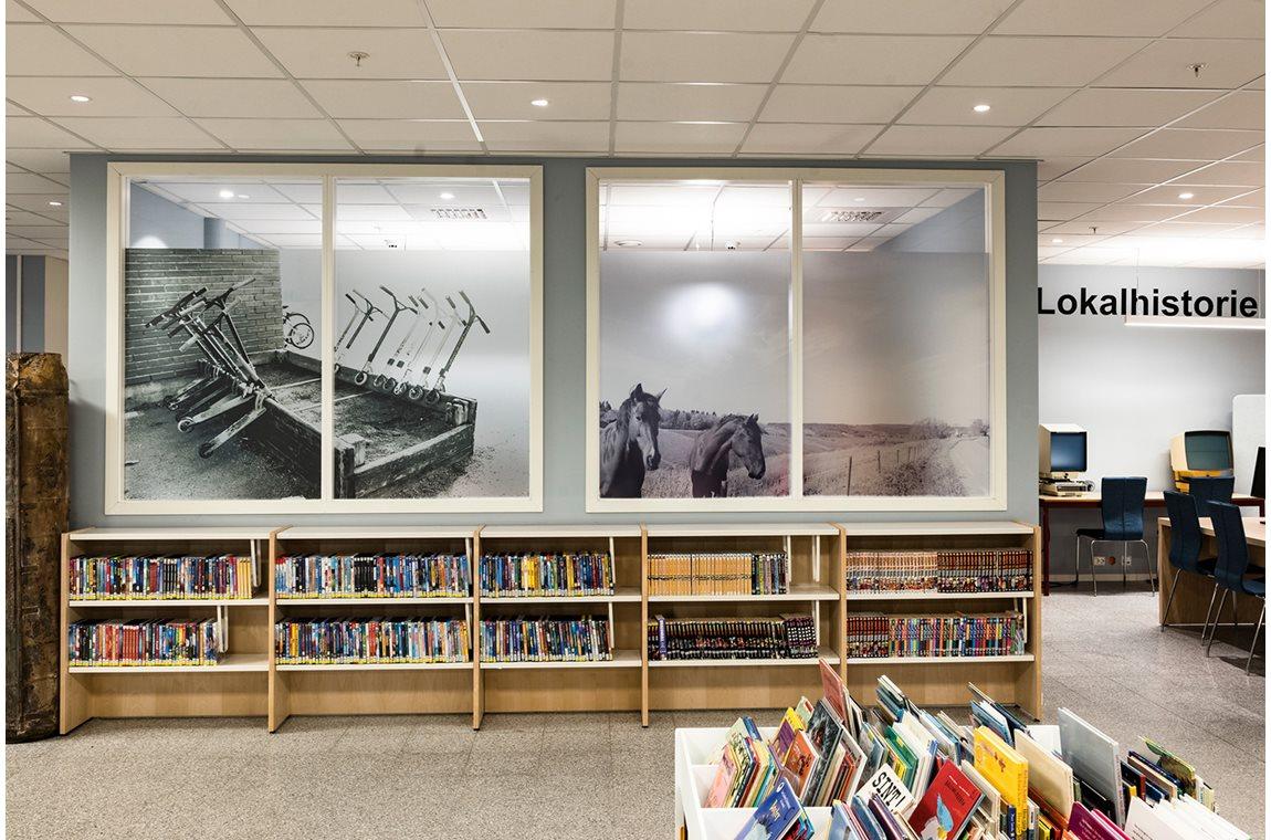 Openbare bibliotheek Trøgstad, Noorwegen - Schoolbibliotheek