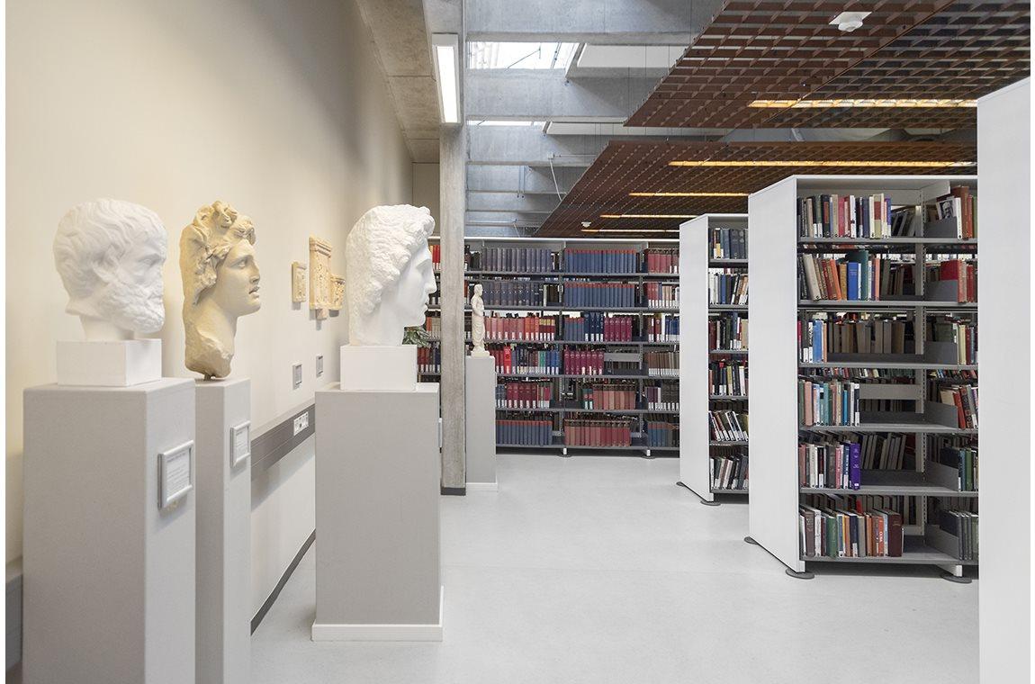 SDU Odense, Danmark - Akademisk bibliotek
