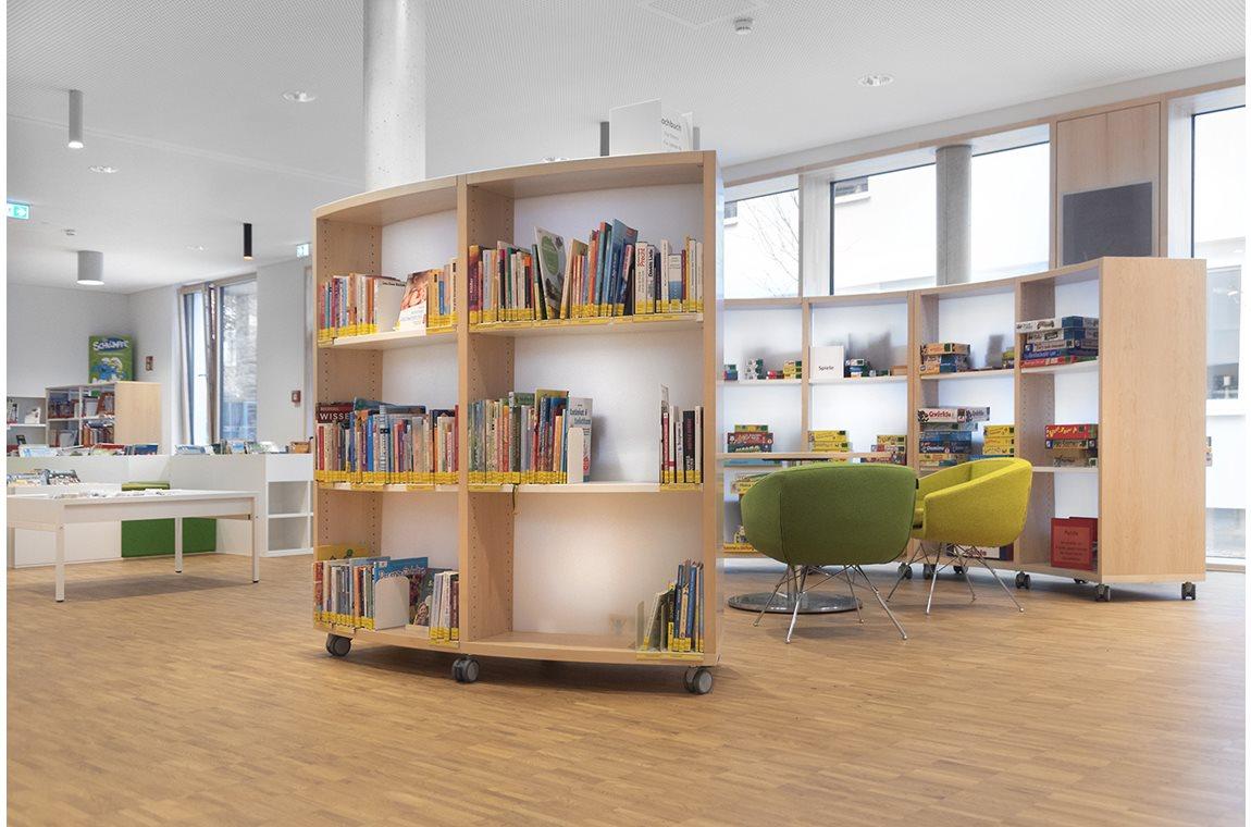 Marktheidenfeld Bibliotek, Tyskland - Offentligt bibliotek