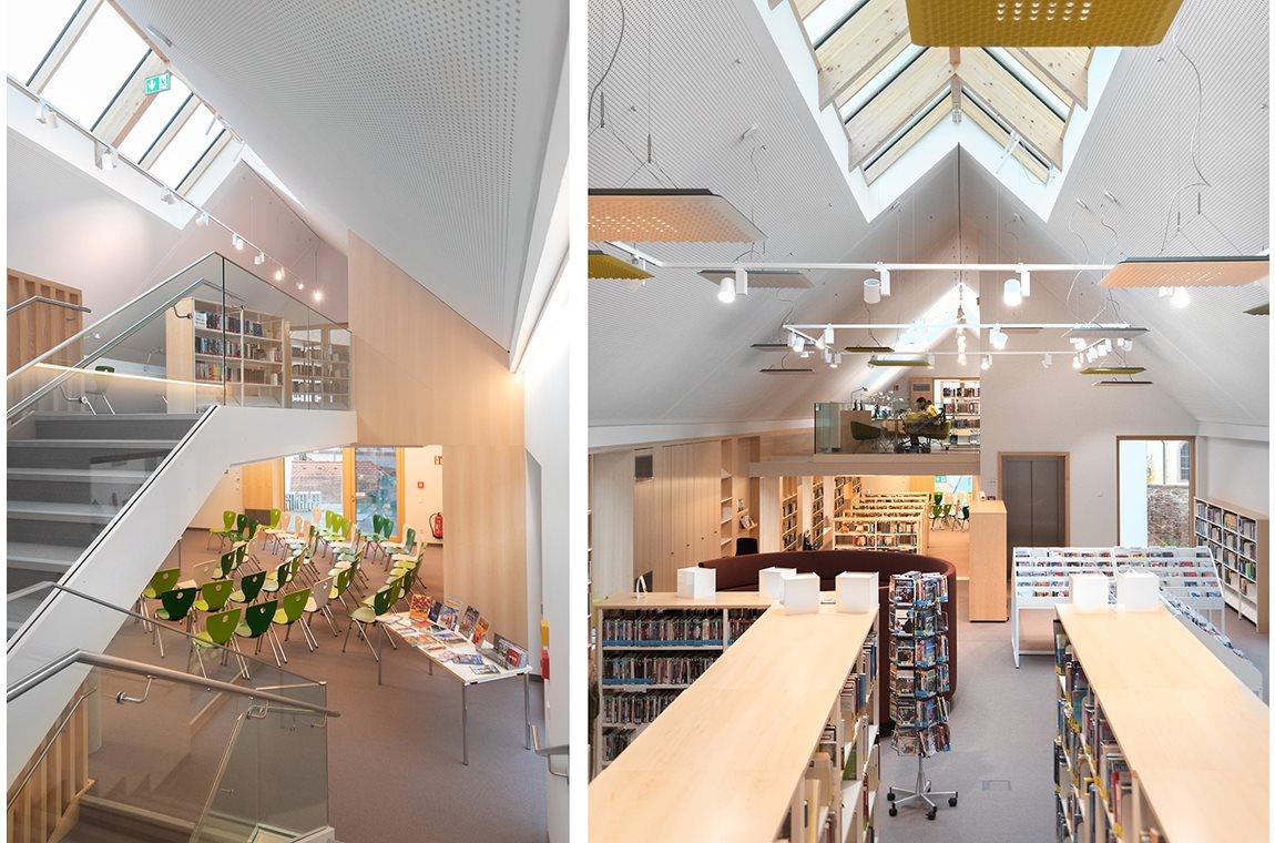 Openbare bibliotheek Marktheidenfeld, Duitsland - Openbare bibliotheek