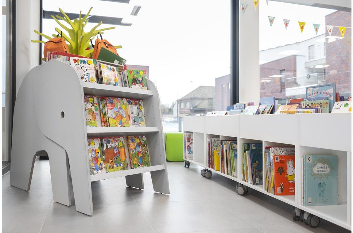 Begijnendijk Bibliotek, Belgien - Offentligt bibliotek