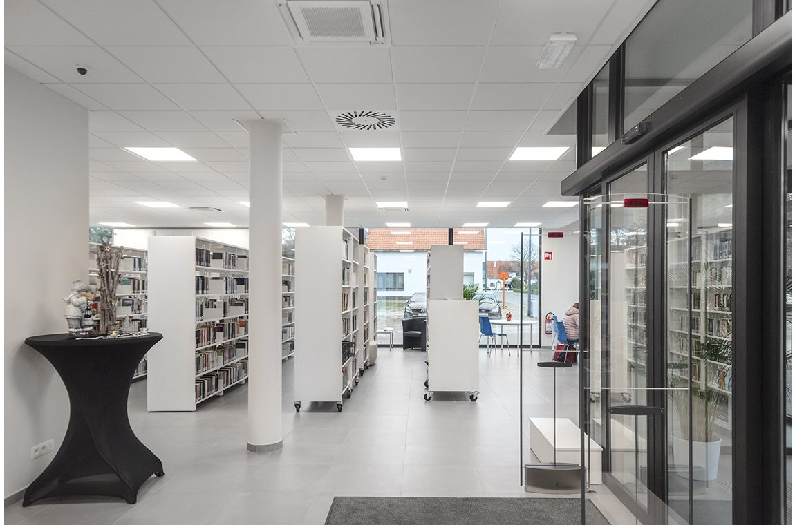 Begijnendijk Public Library, Belgium - Public libraries