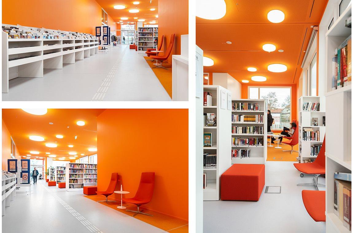 Möglingen Bibliotek, Tyskland - Offentligt bibliotek