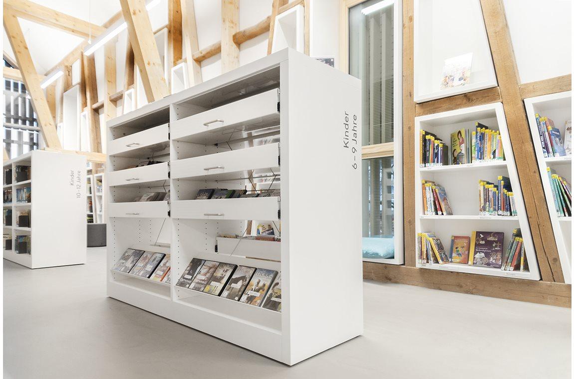 Kressbronn Public Library, Germany - Public libraries