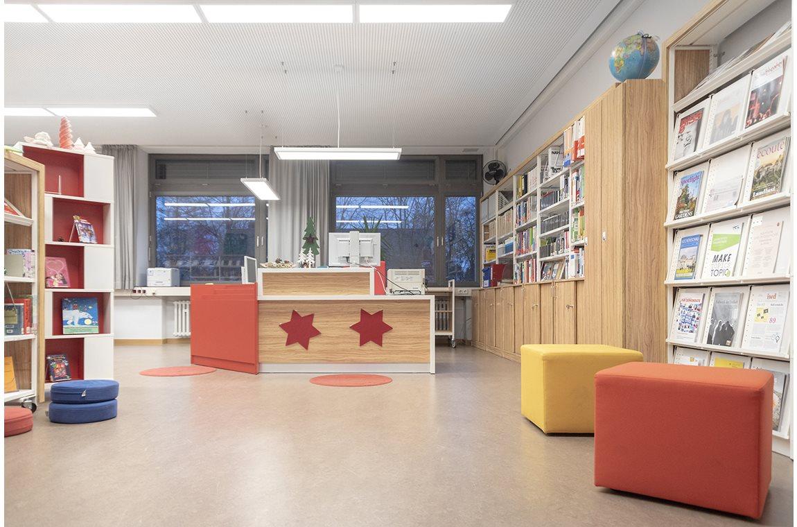 Bertolt-Brecht-Gymnasium, Deutschland - Schulbibliothek