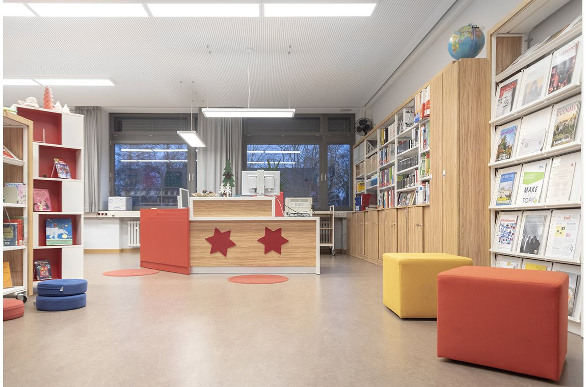 Bertolt-Brecht skolebibliotek, Tyskland - Skolbibliotek