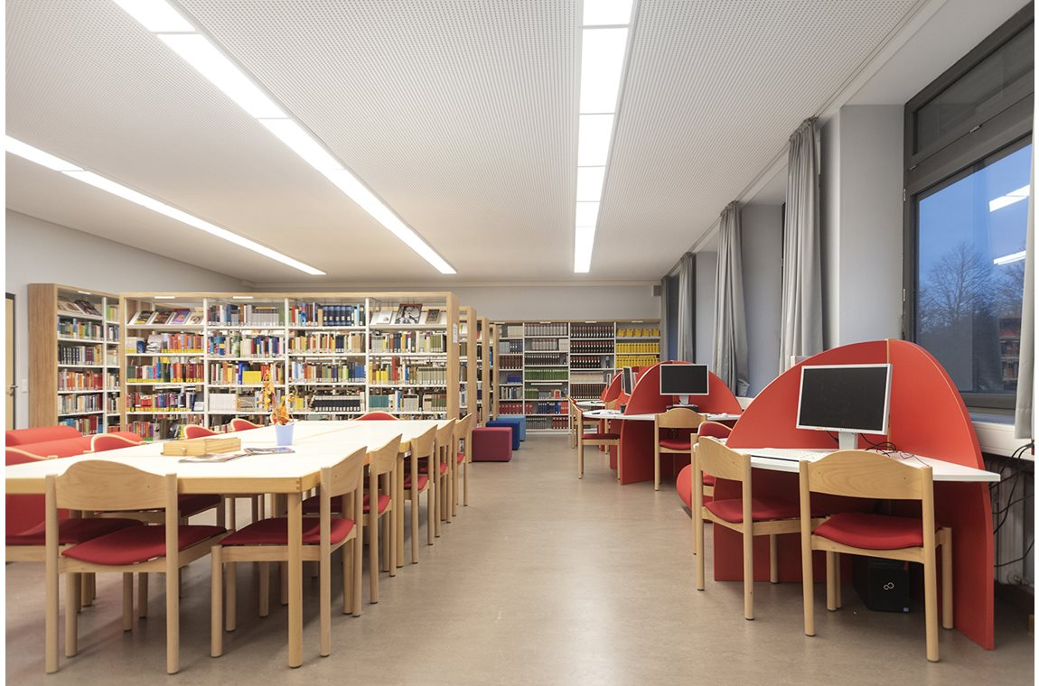 Bertolt-Brecht High School, Germany - School libraries