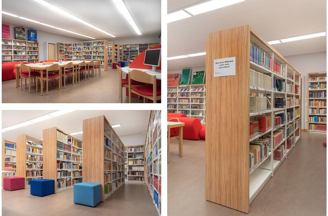 Bertolt-Brecht High School, Germany - School libraries