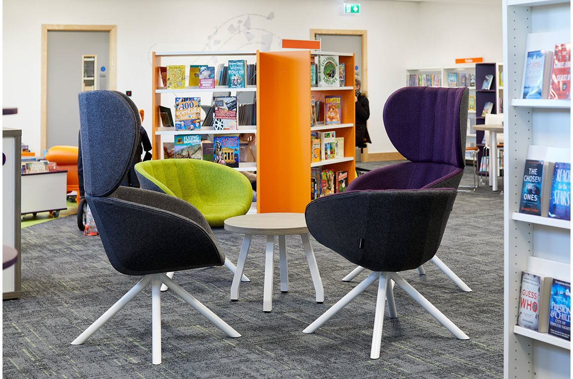 Jarrow Hub, United Kingdom - Public libraries