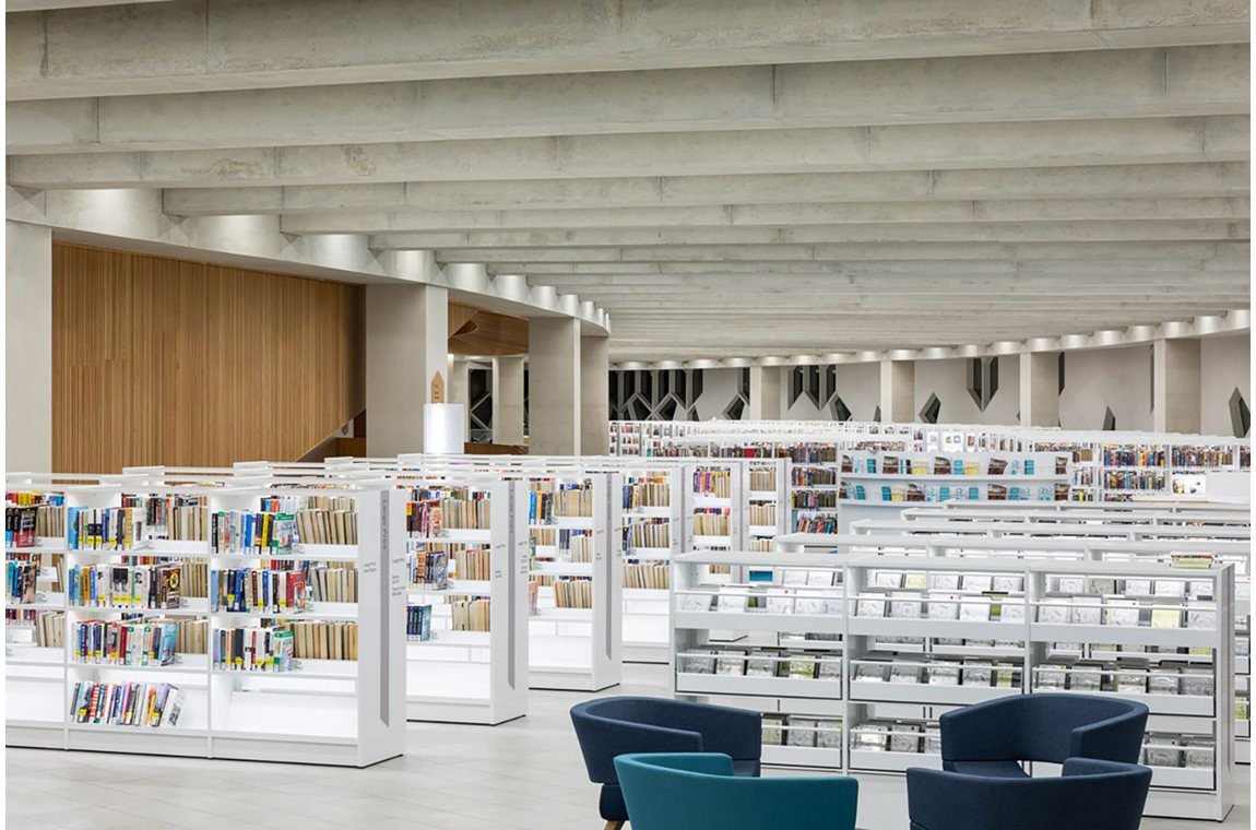 Öffentliche Bibliothek Calgary, Kanada - Öffentliche Bibliothek