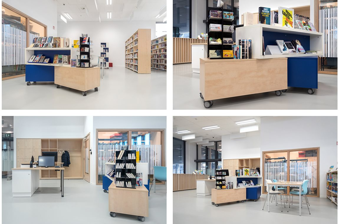 Öffentliche Bibliothek Koekelberg, Belgien - Öffentliche Bibliothek