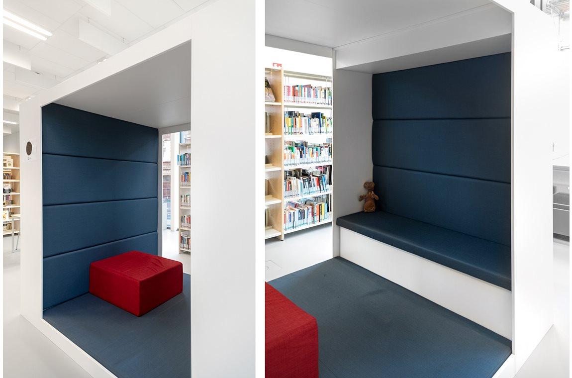 Koekelberg bibliotek, Belgien - Offentliga bibliotek