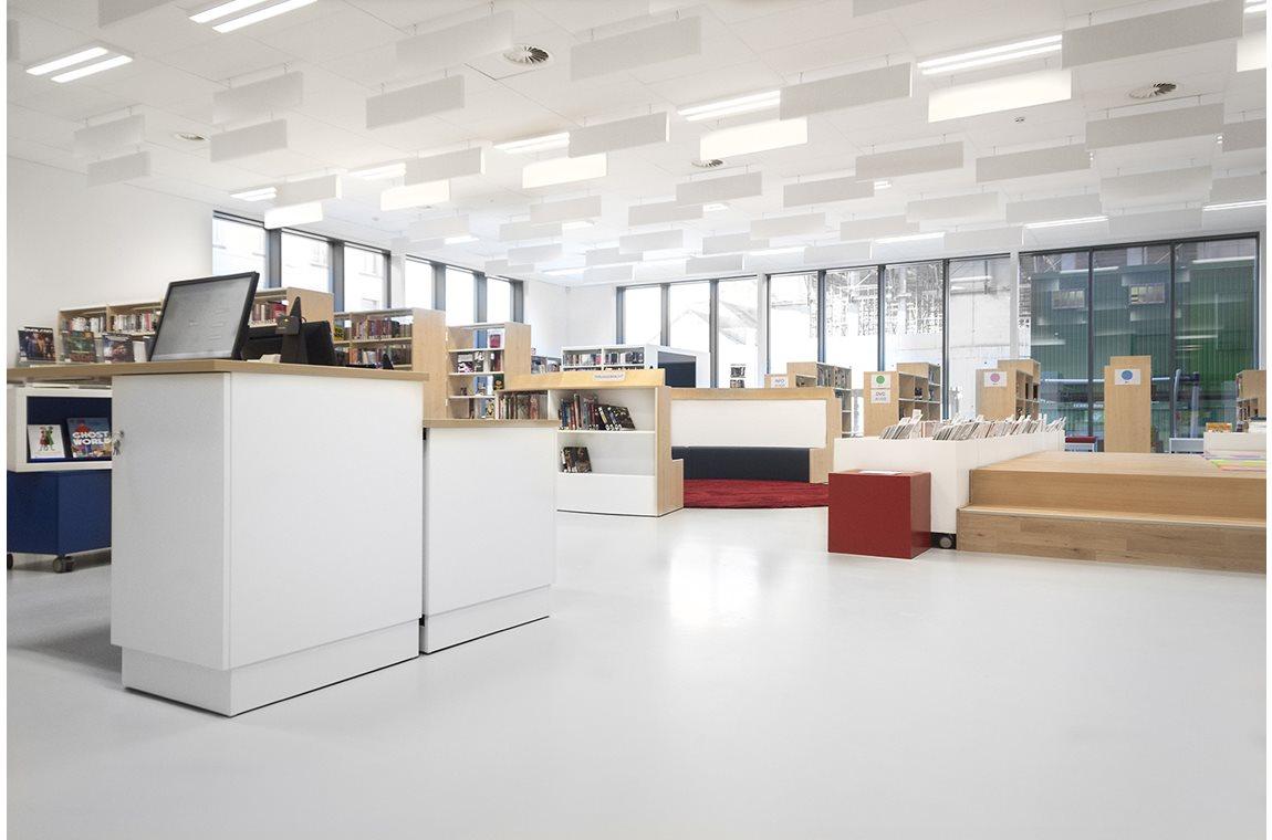 Bibliothéque municipale de Koekelberg, Belgique - Bibliothèque municipale