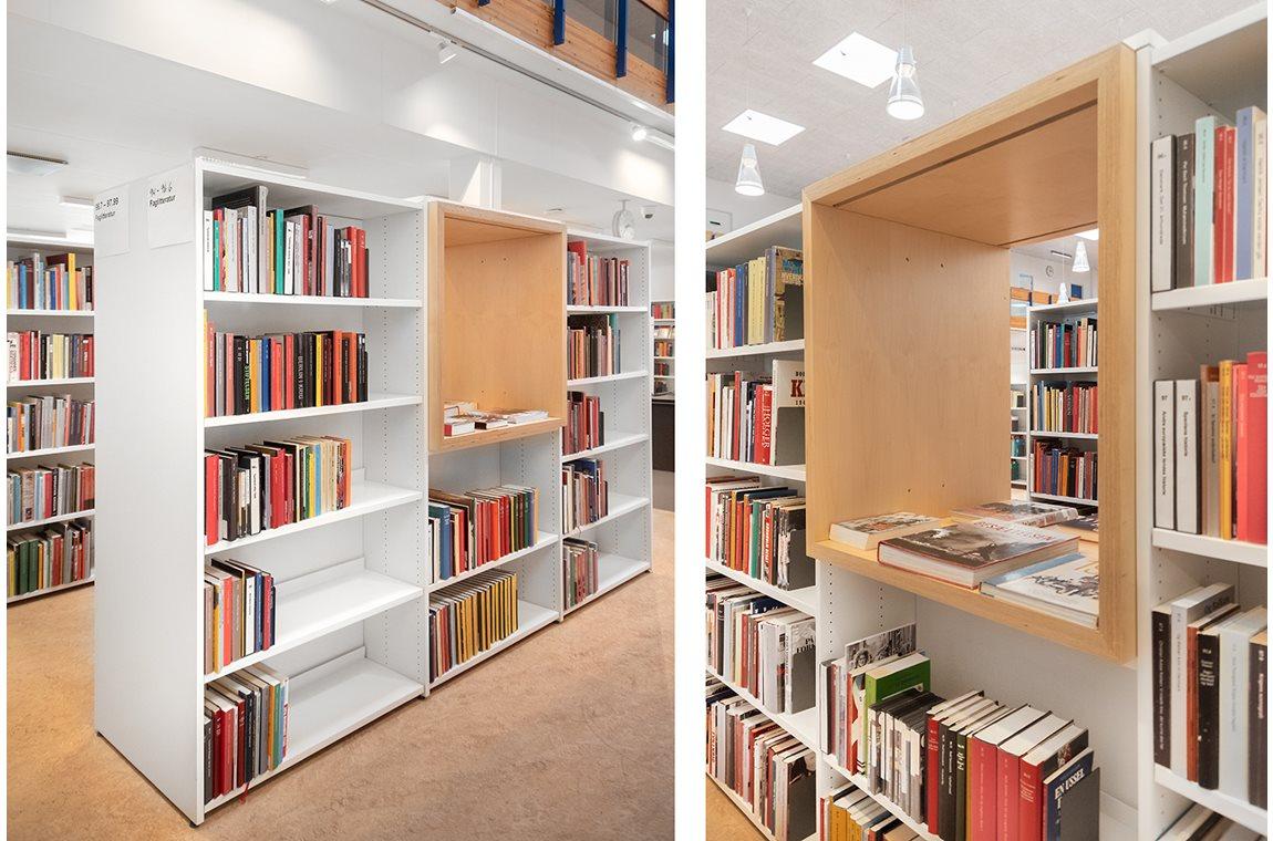 Openbare bibliotheek Hvidovre, Denemarken - Openbare bibliotheek
