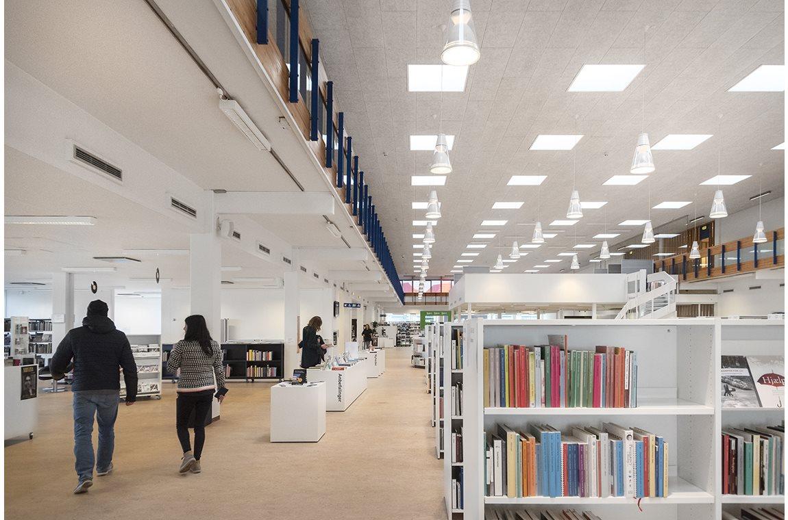 Bibliothèque municipale de Hvidovre, Danemark - Bibliothèque municipale