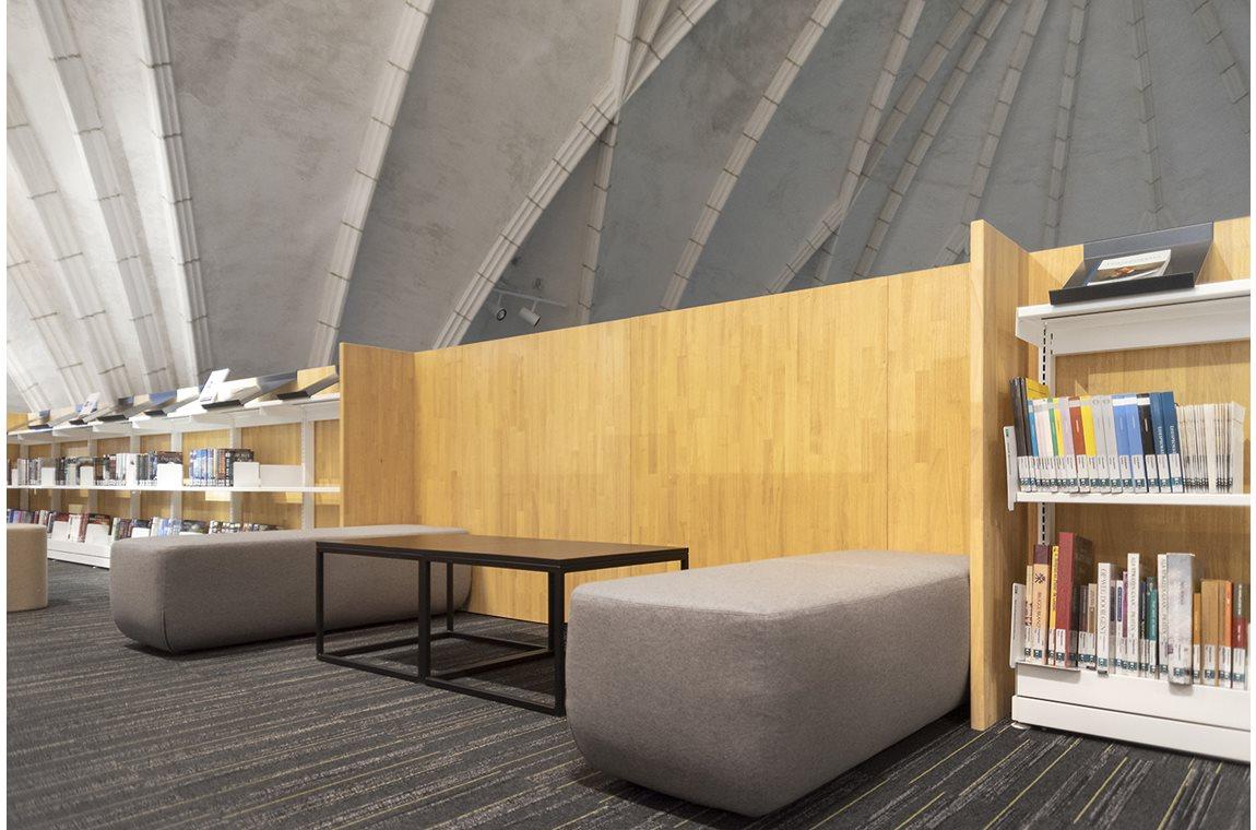 Bibliothéque municipale de Wielsbeke, Belgique - Bibliothèque municipale