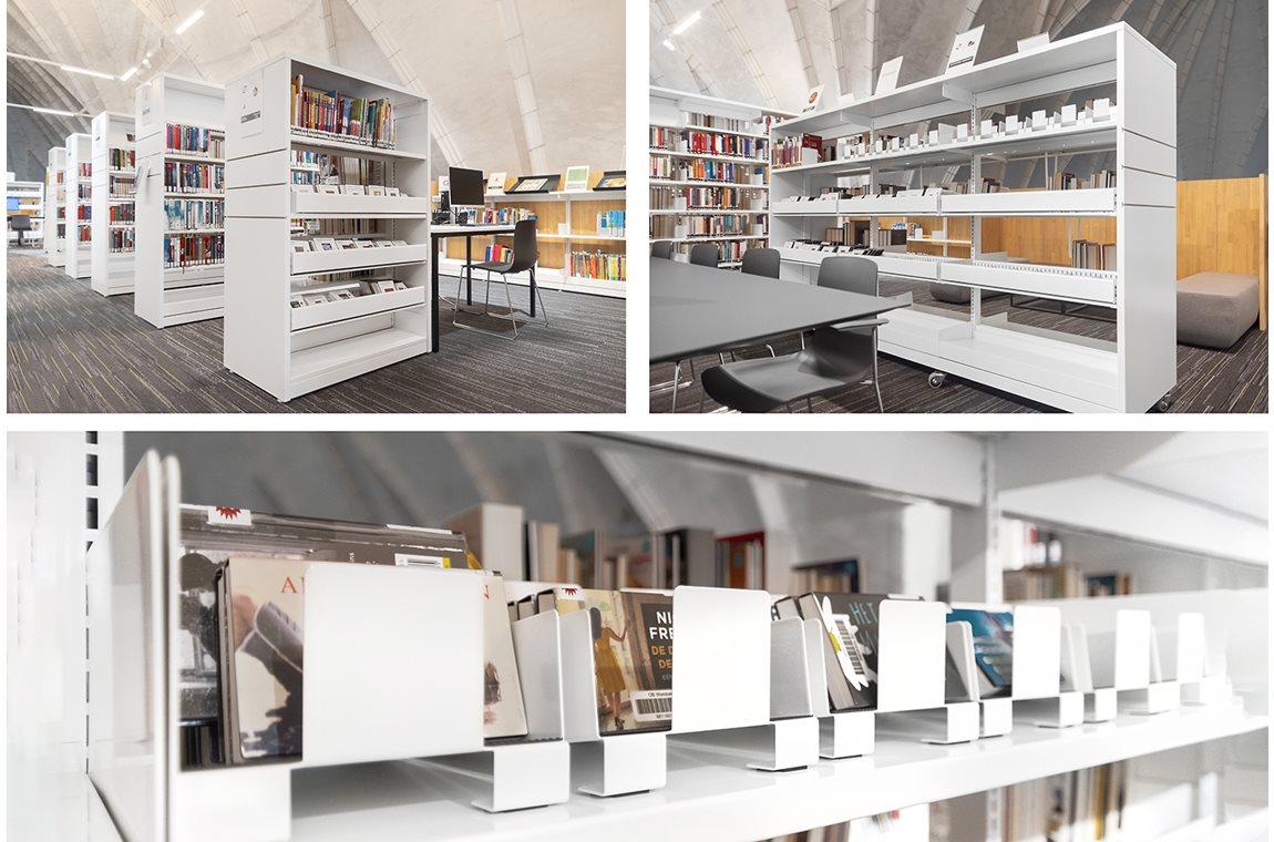 Wielsbeke Bibliotek, Belgien - Offentligt bibliotek