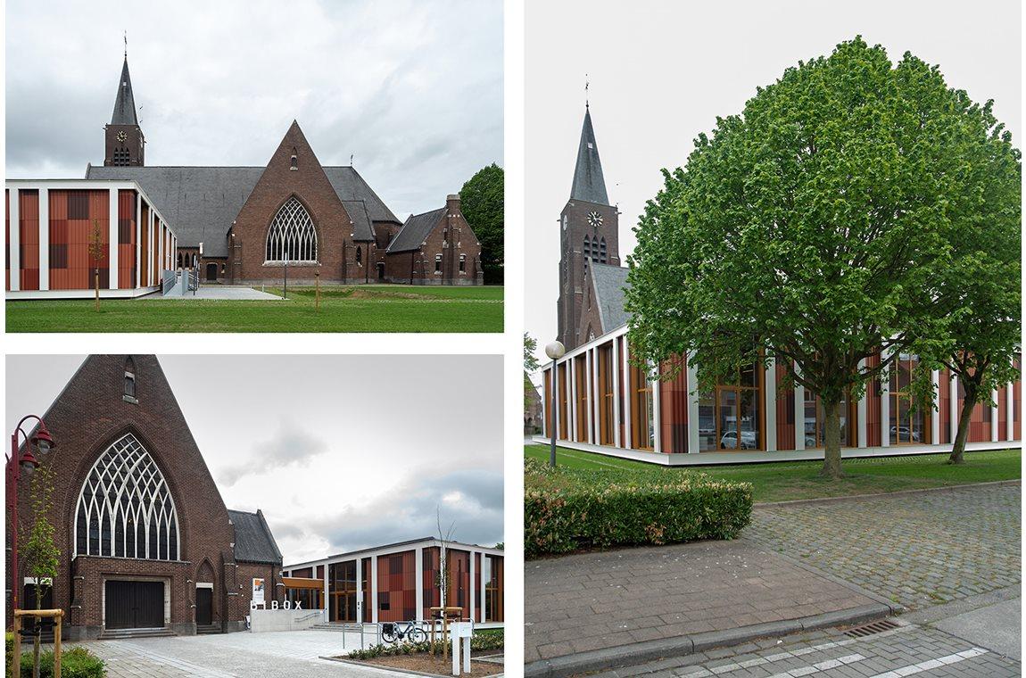 Wielsbeke bibliotek, Belgien - Offentliga bibliotek