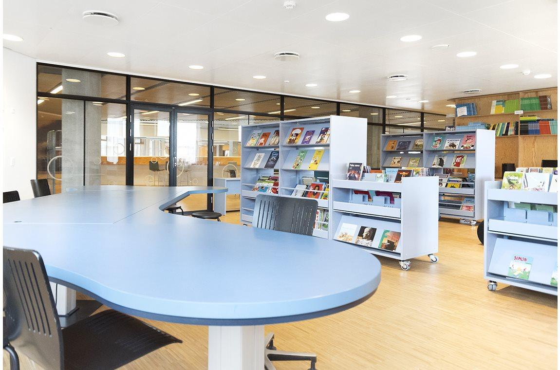 Skolen i Sydhavnen, København, Danmark - Skolebibliotek