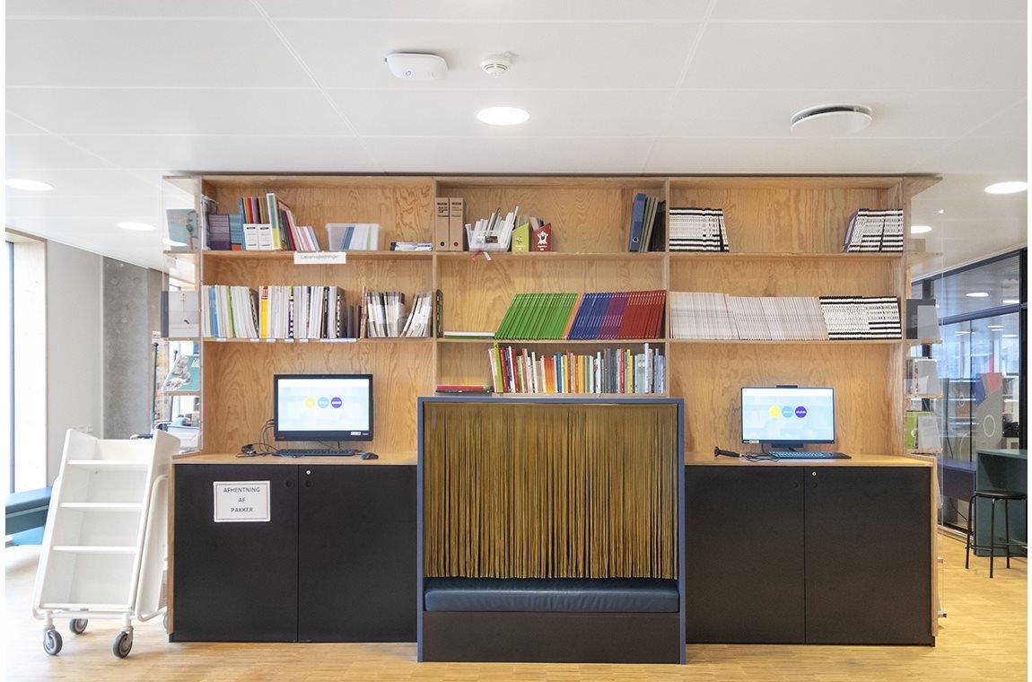 Skolen i Sydhavnen, Danmark - Skolbibliotek