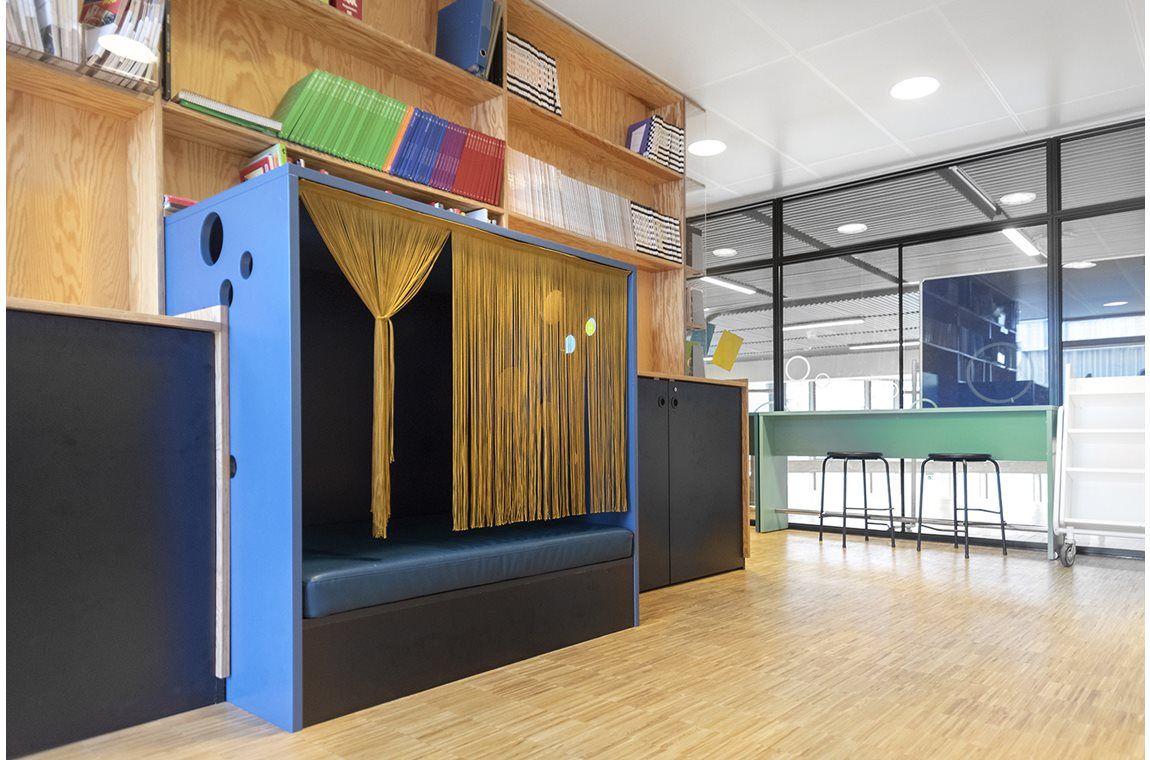 Skolen i Sydhavnen, Denmark - School libraries