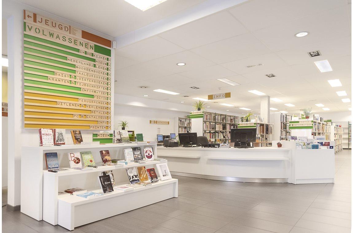 Openbare Bibliotheek Schaarbeek, België - Openbare bibliotheek
