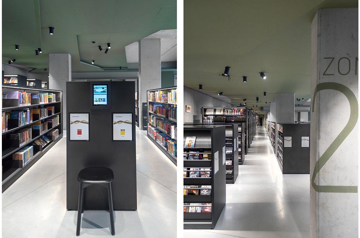 Bibliothéque municipale de Boom, Belgique - Bibliothèque municipale