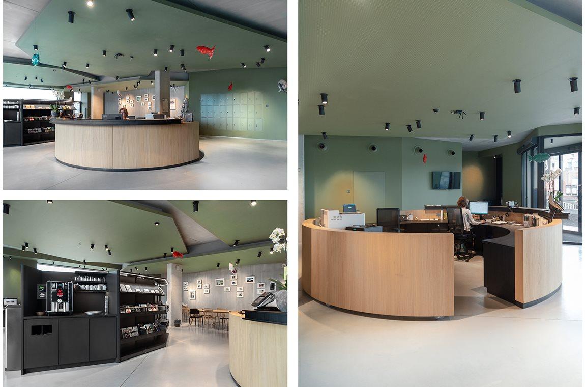 Boom Bibliotek, Belgien - Offentligt bibliotek