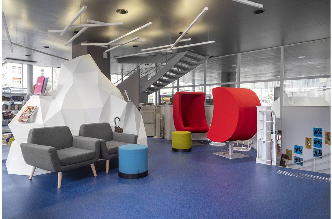 Bibliothéque municipale de Lisieux, France - Bibliothèque municipale