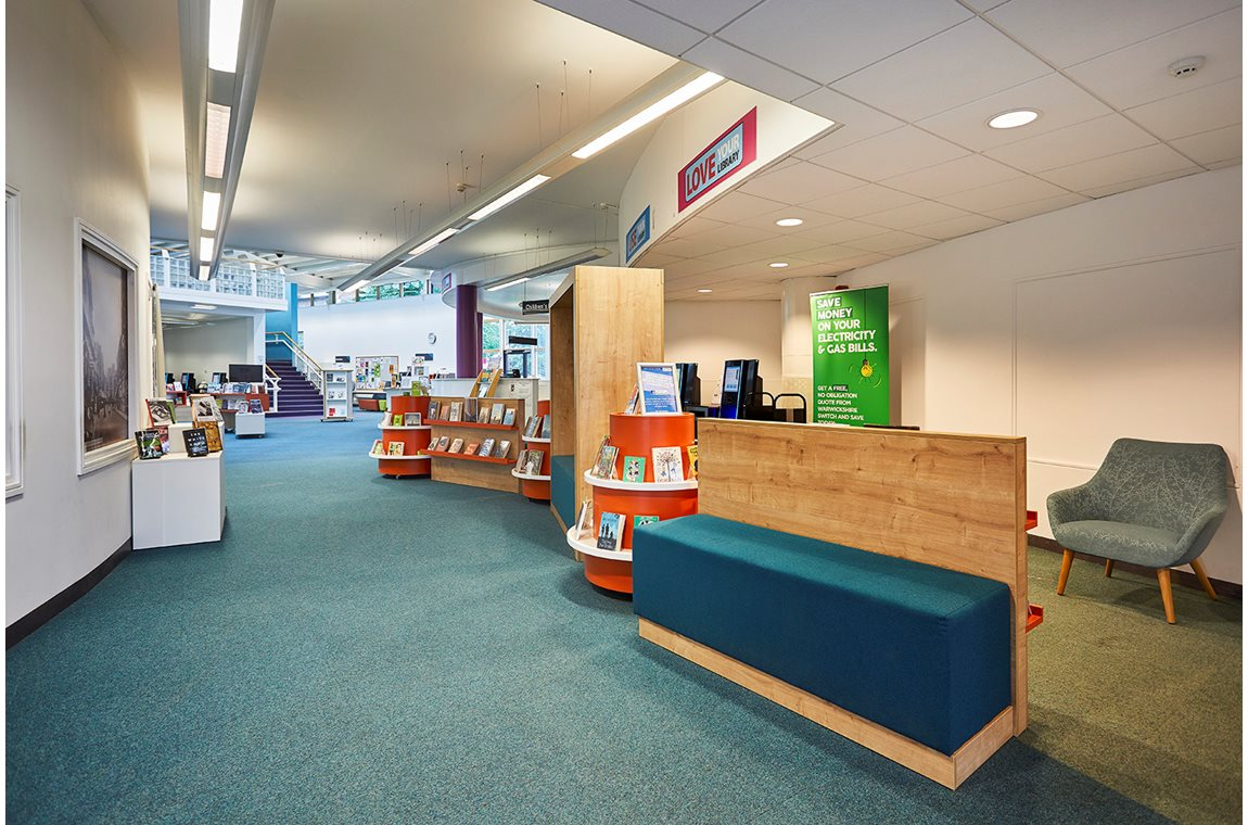 Rugby Library and Makerspace, United Kingdom - Public libraries