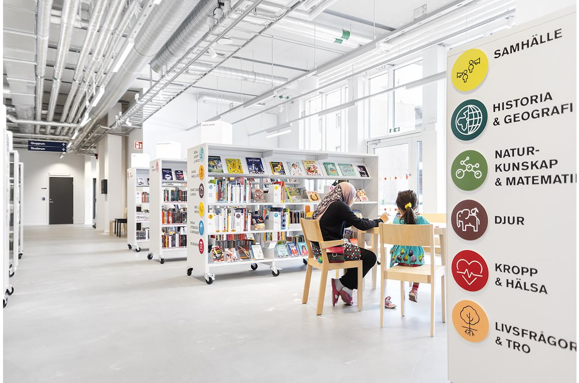 Fittja Public Library, Sweden - Public libraries