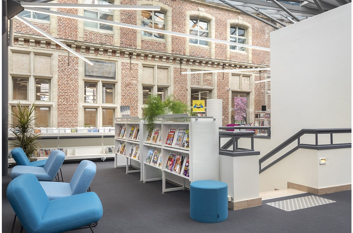 Simone Veil Public Library, Valenciennes, France - Public libraries