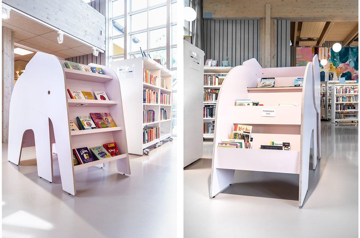 Bibliothéque municipale de Östhammar, Suède - Bibliothèque municipale
